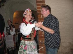 En dans i Krakow i Polen 2004